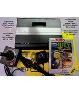 Atari 7800 Refurbished Upgraded OS NTSC | PAL MODs AV | LED | Heat Sink ... - $320.00