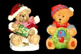 Bear Figurine (Pair) AA20-2334 Vintage