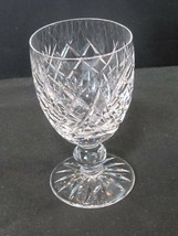 Signed Waterford crystal Donegal claret glass - $27.12