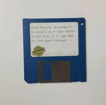 Perfect Forms (1991 Expert Software) Diskette  - $9.49