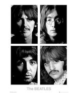 THE BEATLES ~ WHITE ALBUM FACES 24x36 MUSIC POSTER John Lennon Paul Geor... - $21.00