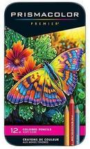 Prismacolor Premier 12 Soft Core Colored Pencils in Tin Box - $12.95