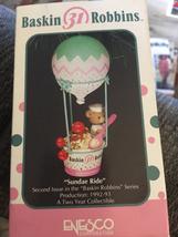 "ENESCO Baskin Robbins ""Sundae Ride"" Collectible Ornament 1992 - $8.95"