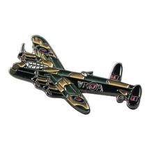 Lancaster Bomber War Plane Aeroplane tie pin, Lapel Pin Badge, in gift box