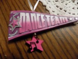 Dance Team/Love to dance ornament - $4.99