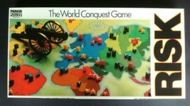 RISK - The World Conquest Game Parker (1985) 100% Original & Complete Bo... - $31.84