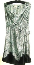 PRINTED DRAPE NECK MATERNITY DRESS SIZE L motherhood - $8.00