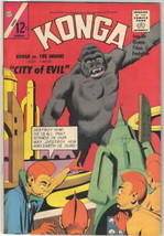 Konga Movie Comic Book #16, Charlton 1964 FINE- - $17.35