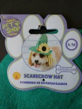 "New Rubie's Pet Shop Dog Puppy Costume ""SCARECROW"" Hat with Sunflower si... - $6.99"