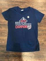 NEW Women's Washington Nationals 2019 World Series Champion Shirt SIZE MEDIUM - $13.86