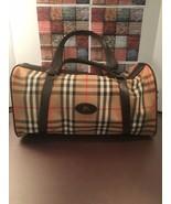 Burberrys (Burberry) Nova Check Travel Boston Bag Pattern Canvas Beige - $145.00