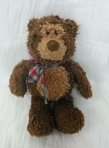 "10"" Gund Rolo Jr Bear Brown Tan Beanbag Plush Stuffed Lovey Toy 15204 B350 - $24.99"