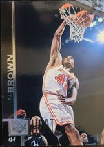 P.J. Brown 1997-98 Upper Deck Miami Heat Basketball Card #65 - $3.80