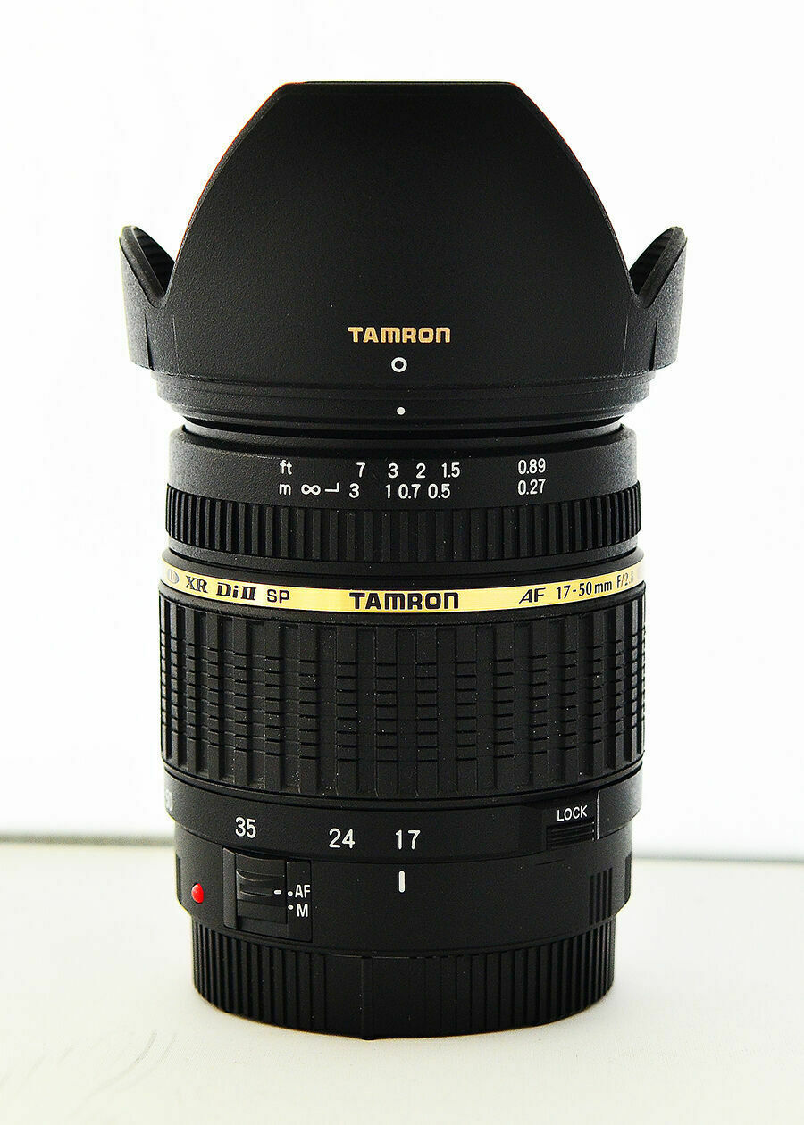 Tamron SP A016 17-50mm F/2.8 Di-II XR AF IF Camera Lens for Canon Mount non-VC