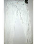 New Mens 36 X 35 Designer Moschino Jeans Pants 52 White Tall Cotton Summ... - $349.00