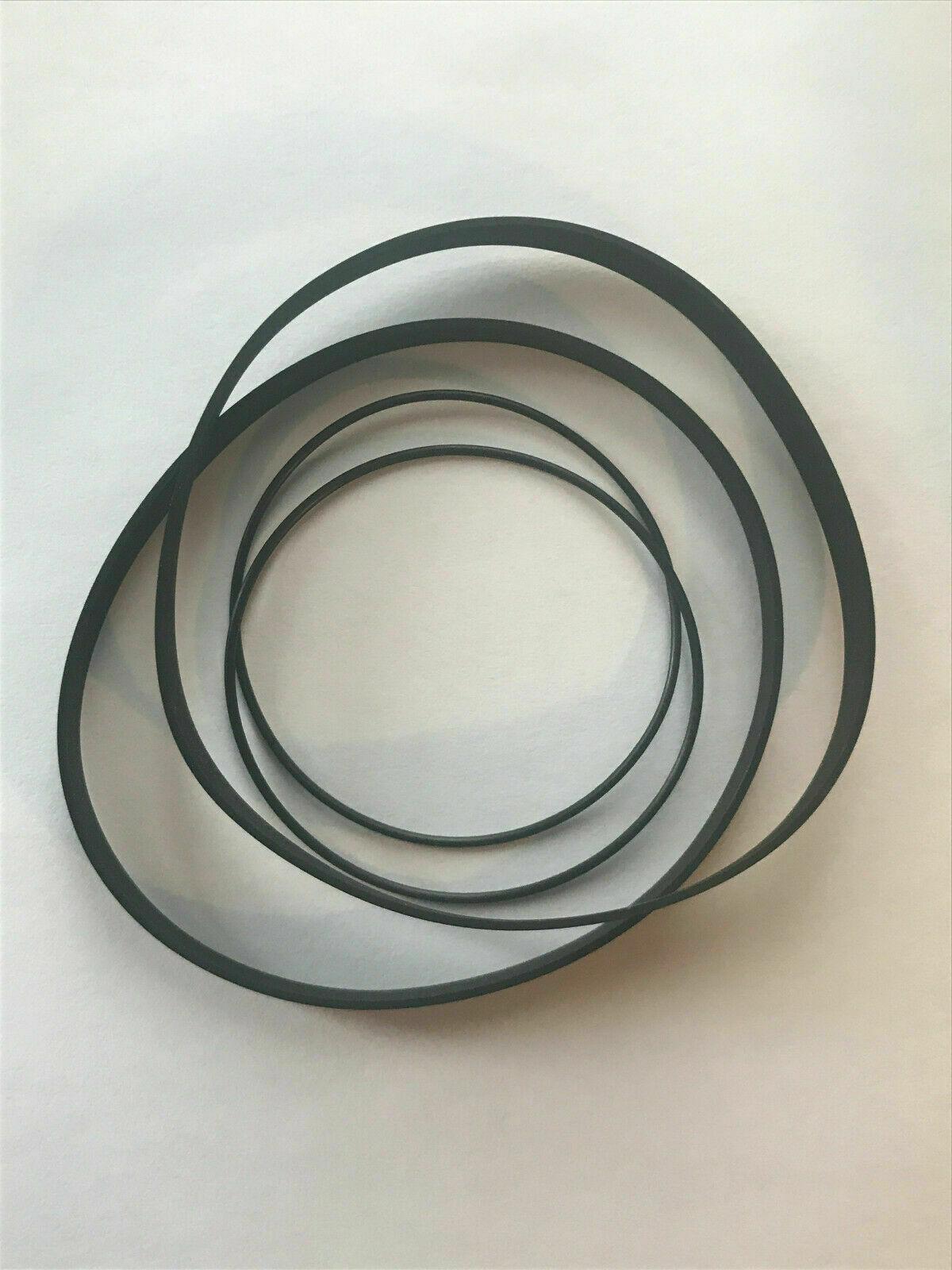 4 Belts Sony TC-WR681 TCWR681 Belt Kit For Cassette Deck