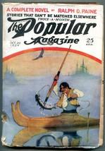 Popular Pulp Magazine October 20 1924- Ralph D Paine-Dane Coolridge - $44.14
