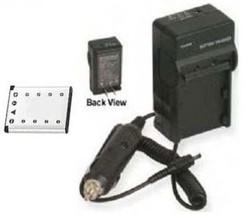Battery + Charger for Casio EX-Z800PK EX-Z800SR EXZ800PK EX-S8SR - $26.98
