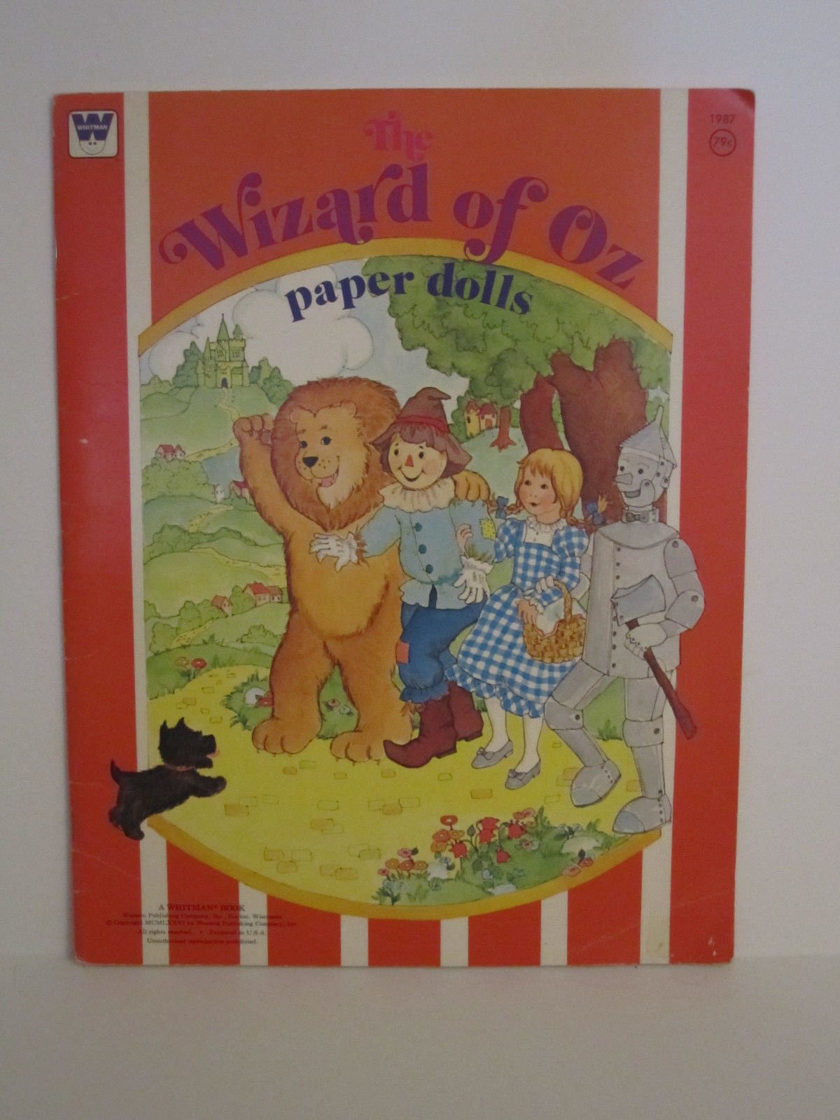 Whitman Wizard of OZ PaperDolls Vintage 1976 Paper Doll #1987