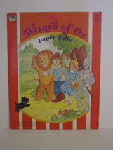Whitman Wizard of OZ PaperDolls Vintage 1976 Paper Doll #1987 image 1