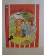 Whitman Wizard of OZ PaperDolls Vintage 1976 Paper Doll #1987 - $14.00