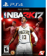 NBA 2K17 Playstation 4 PS4  Disk Only - $7.75