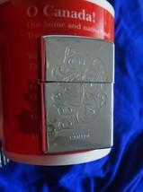 Bradford Pa. Made In Usa Zippo Lighter Killer Whale + 2 Eagle Heads Design Vtg - $89.00