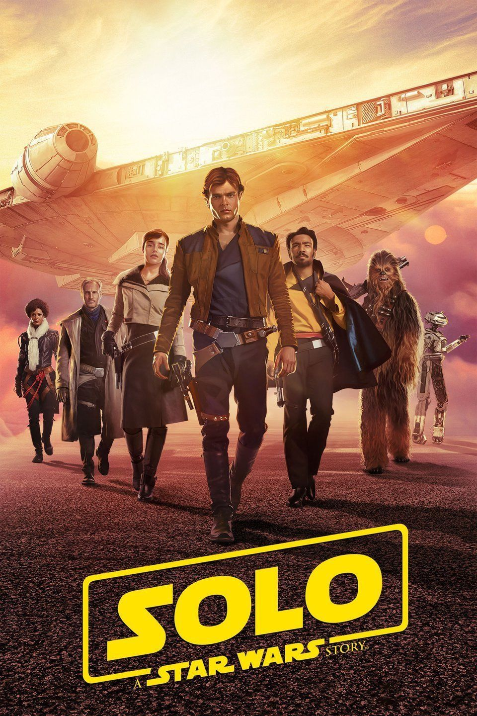Solo : a Star Wars story Cover