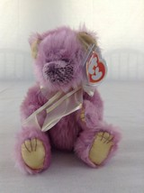 2000 Ty Beanie Baby Teddy Bear Sophia Pink Colored Stuffed Animal Toy - $7.69