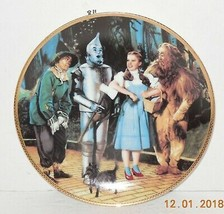 Hamilton Collection Plate Wizard of Oz We're Off to See the Wizard with COA 1988 - $44.55
