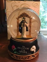 San Francisco Music Box Phantom of the Opera  Christine Mirror Water Globe - $96.75