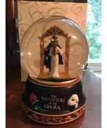 San Francisco Music Box Phantom of the Opera  Christine Mirror Water Globe - $96.75
