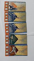 5 Season Tickets for 5 1996 LA Dodgers Games-4 Mike Piazza Homers  - $11.66
