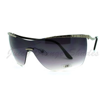 DG Womens Sunglasses Semi-Rimless Shield High Fashion Shades - $7.95