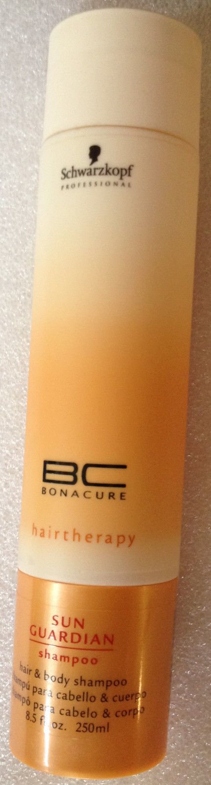 Schwarzkopf BC Bonacure SUN GUARDIAN Hair & Body Shampoo 8.5oz NEW & FRESH!