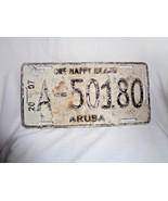 ARUBA License Plate 2007 One Happy Island A-50180 Authentic Dutch Caribbean - $18.99