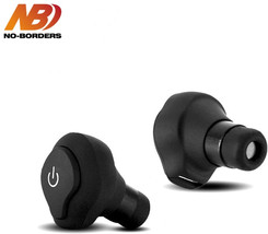 NO BORDERS DS 13 TWS Headphone Mini Wireless Bluetooth Earphone CSR APTX... - $17.79