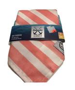 Petco Seaside Summer Pink Stripe Dog Bandana NEW! - $7.59