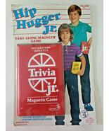 Vintage 1984 Hip Hugger Jr Take Along Magnetic Trivia Jr. Game Sealed - £13.89 GBP