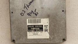 Toyota Tacoma ECM ECU BCM Computer Brain 89661-0Y080 TN 175200-9371 image 3