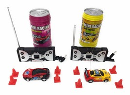 Mini RC Remote Control Car - 2 Pcs Racing Game Set - Smallest Toy Race C... - $24.90