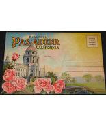 1930's PASADENA CALIFORNIA Antique POSTCARD FOLDER Western Publishing  6... - $14.99