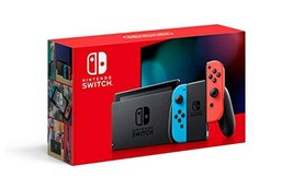 Nintendo Switch with Neon Blue and (Neon Blue and Red HAC-001(-01)|Console) - $725.98