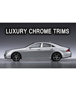 Mercedes CLS W219 Stainless Chrome Pillar Posts by Luxury Trims 2005-201... - $69.80