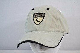 River Lakes Tan/ Black Golf Baseball Cap Adjustable Buckle Strap - $16.99