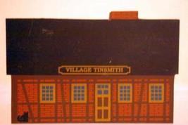 The Cats Meow Village 1989 Village Tinsmith Series VII Wooden Shelf Sitter - $3.39