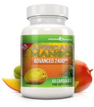 Pure African Mango Advanced 2400mg 60 Capsules - $19.49