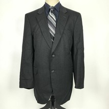 Jos. A. Bank Men's Size 44L Black Wool Blend Blazer Sport Coat Jacket - $39.60