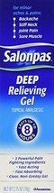 Salonpas Deep Pain Relieving Gel 2.75oz Pack of 6 - $52.63