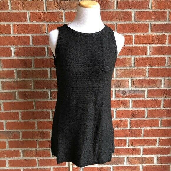 Primary image for NWT! $68 White House Black Market SLEEVELESS SWEATER - Size Small